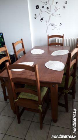 Table bois 50 Fleury-la-Vallée (89)