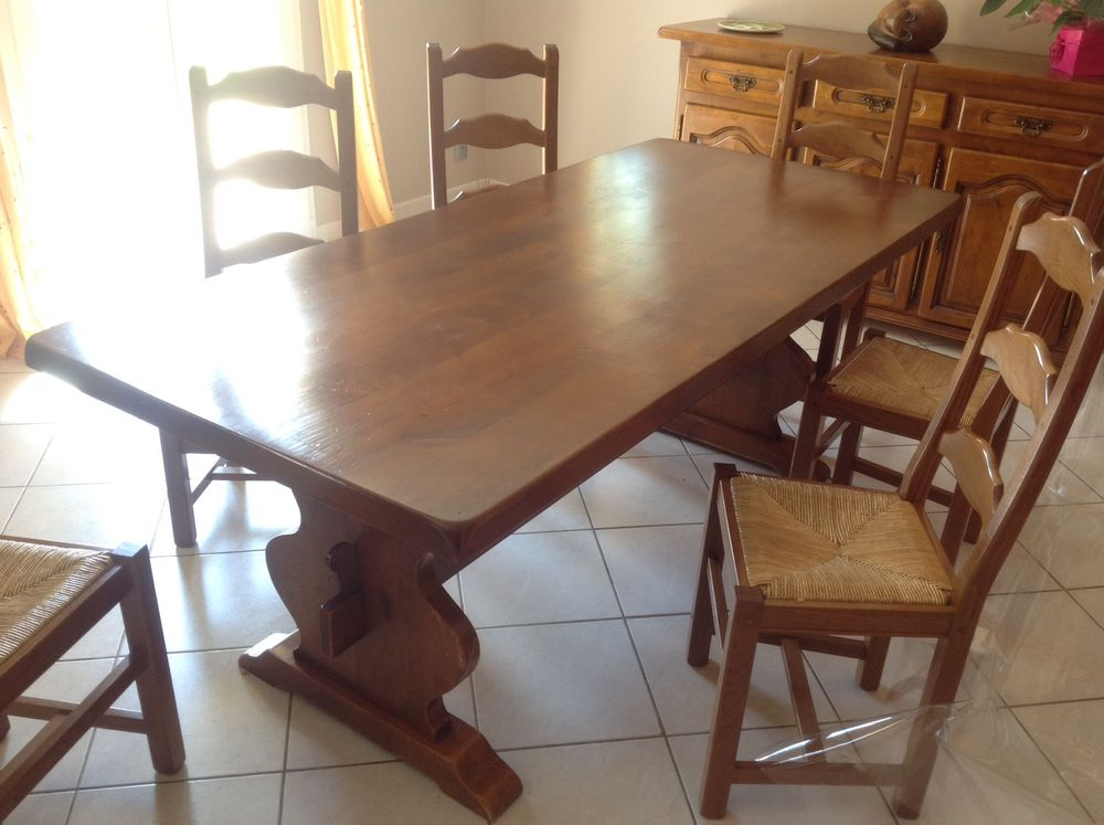 Table en bois  100 Saint-Just-le-Martel (87)