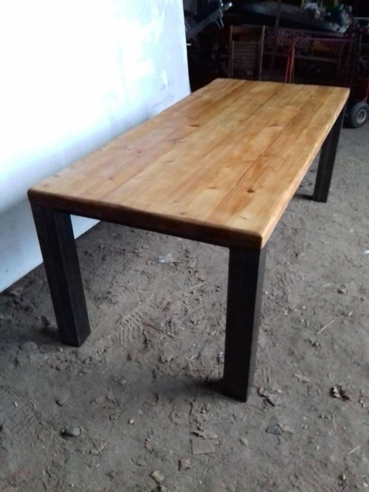 table bois fer 400 Duras (47)