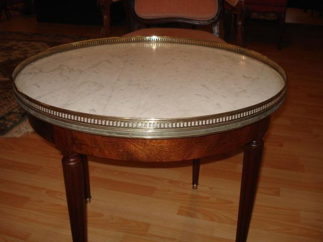 TABLE BOUILLOTTE ANCIENNE  160 Lamothe-Landerron (33)