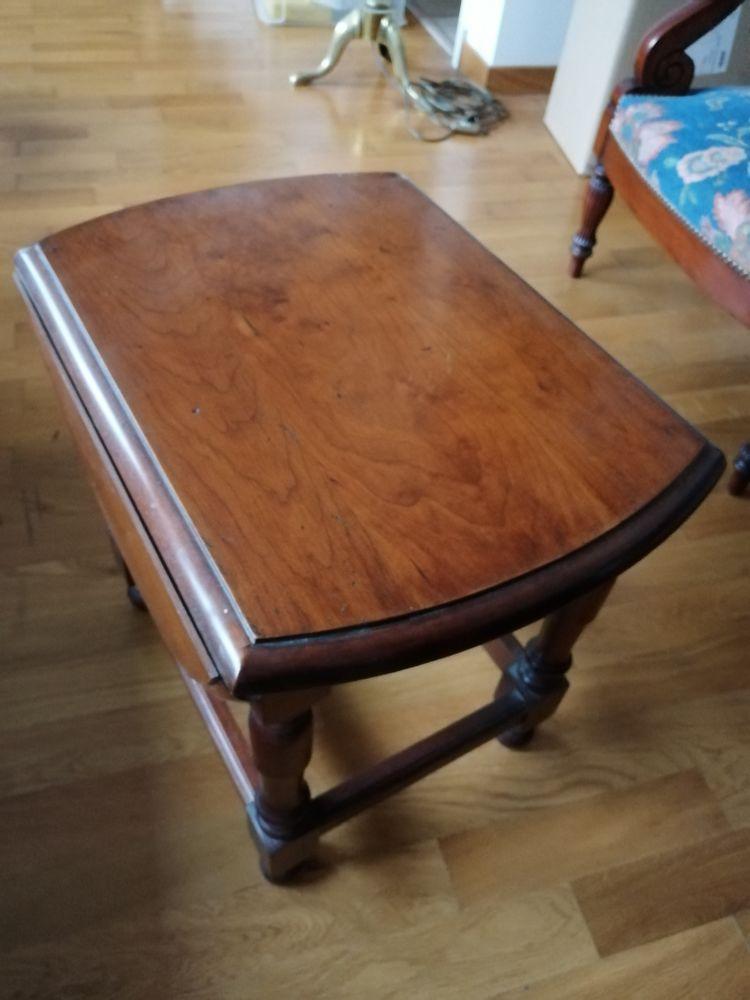 TABLE bout de canapé  Ovale bois 25 Ermont (95)
