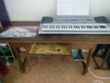 table ou bureau avec tiroir en chêne massif Meubles