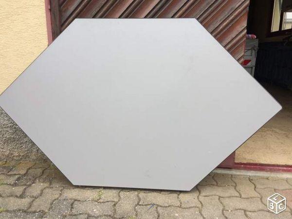 Table de bureau hexagonale 45 Sélestat (67)