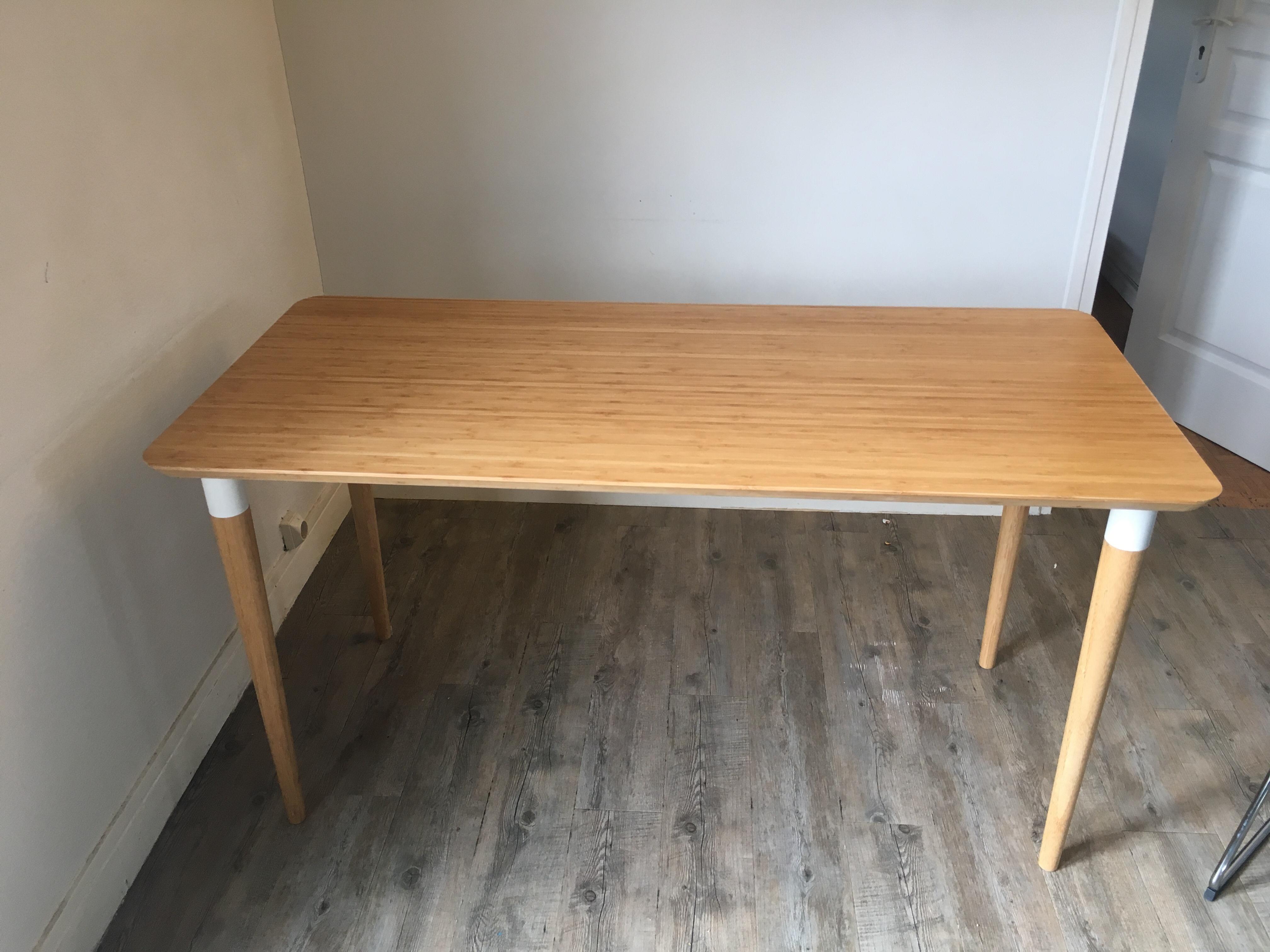 Achetez table bureau ikea quasi neuf annonce vente à boulogne