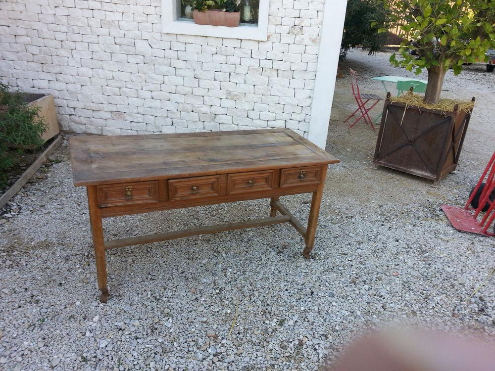 TABLE BUREAU 4 TIROIRS 80 Maillane (13)