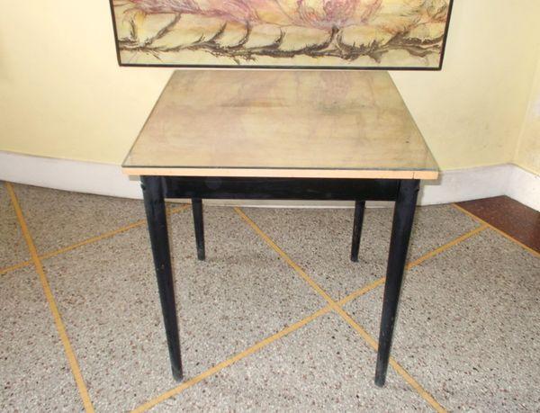 table  cadre photo  atypique, originale en bois et verre 75 Monflanquin (47)