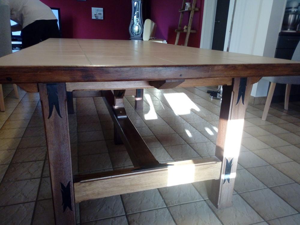 table campagnarde en bois massif 100 Marzan (56)
