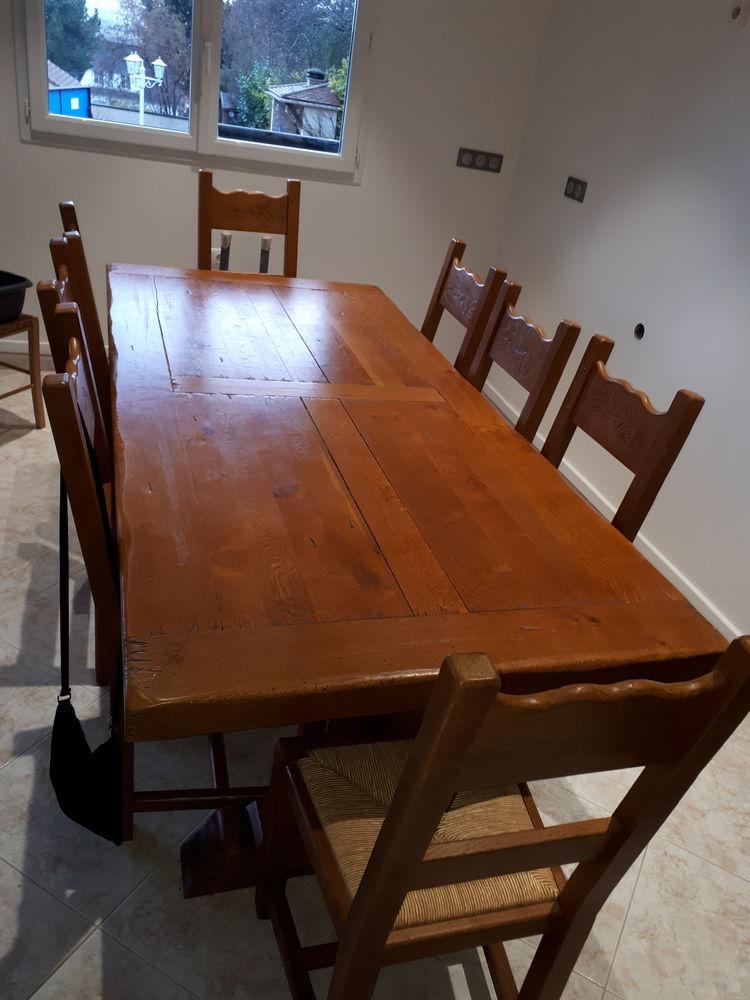 Table campagnarde  0 Mézy-sur-Seine (78)