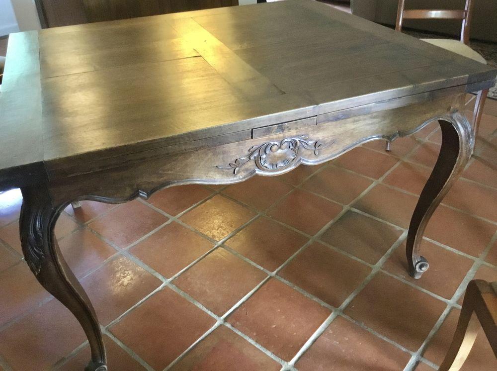 table carré provençale à rallonge 2 rallonges 170 Suresnes (92)