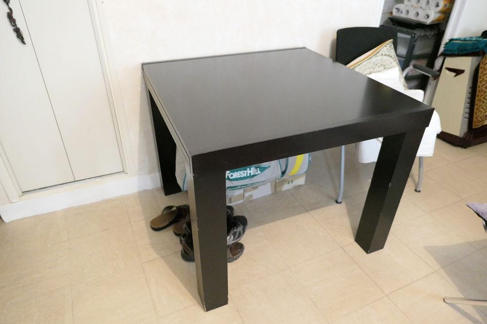 Table carrée noire télescopique 170 Paris 10 (75)