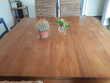 Table carrée teck TBE