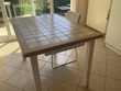 table carrelée fabrication maison