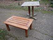 Table cèdre rouge,table basse/jardin/terrasse 125 Castres (81)