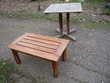 Table cèdre rouge,table basse/jardin/terrasse