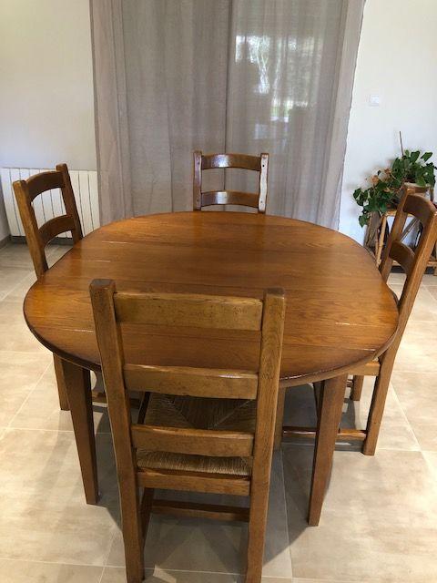 Table et chaise salle à manger 200 Lanton (33)