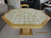 table et chaises bois chène doré 200 Rillieux-la-Pape (69)
