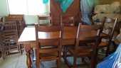 table + 6 chaises en chêne 200 Ceyzériat (01)