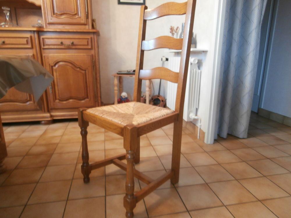 table et chaises en chêne , 1700 Issoire (63)