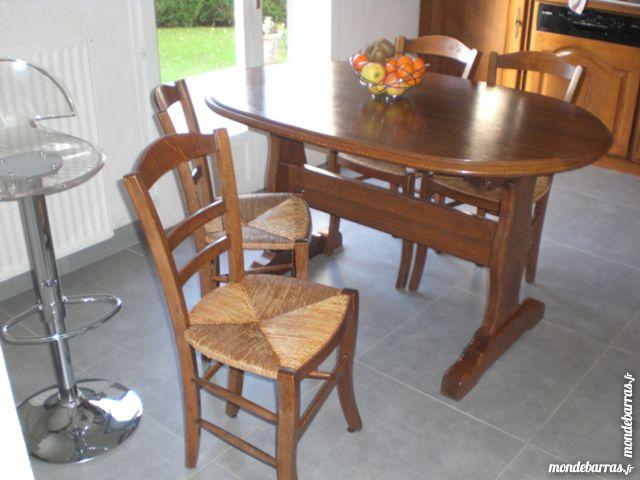 Achetez table + 4 chaises occasion, annonce vente à Meaux