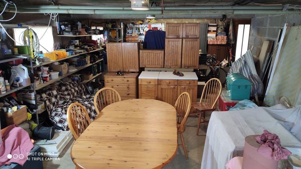 Table et chaises de cuisine 180 Verjux (71)