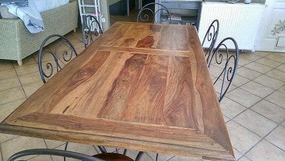 Achetez table chaises et occasion annonce vente les martys 11 wb151224161 - Paravent fer forge maison du monde ...