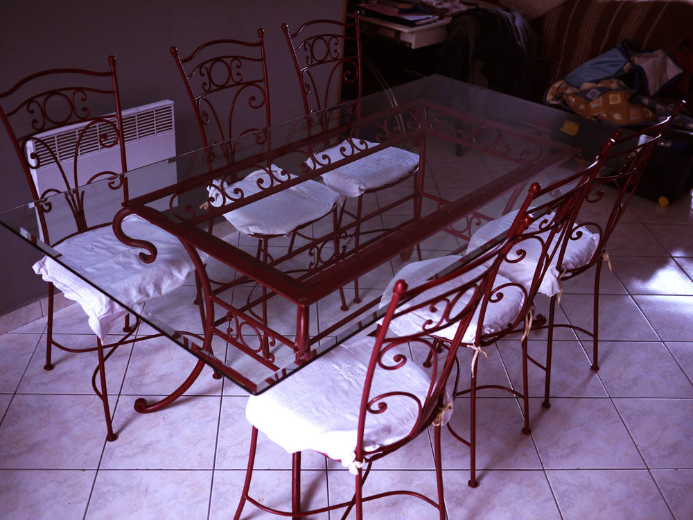 Table + chaises fer forgé  400 Tourcoing (59)