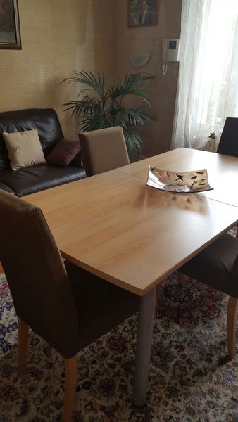 Table + 6 chaises L162 x l84 140 Clamart (92)