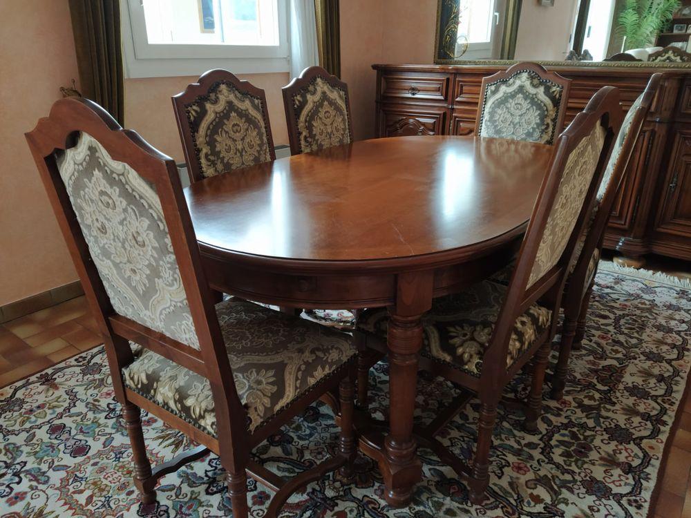 Table et 6 chaises en merisier massif 690 Le Plessis-Pâté (91)