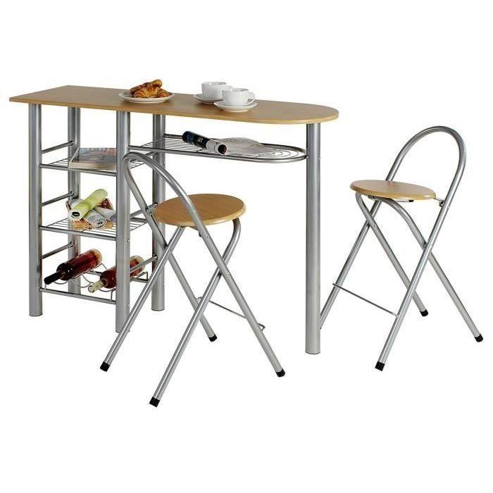 table et chaises pliante bois metal 40 Hyeres Plage (83)