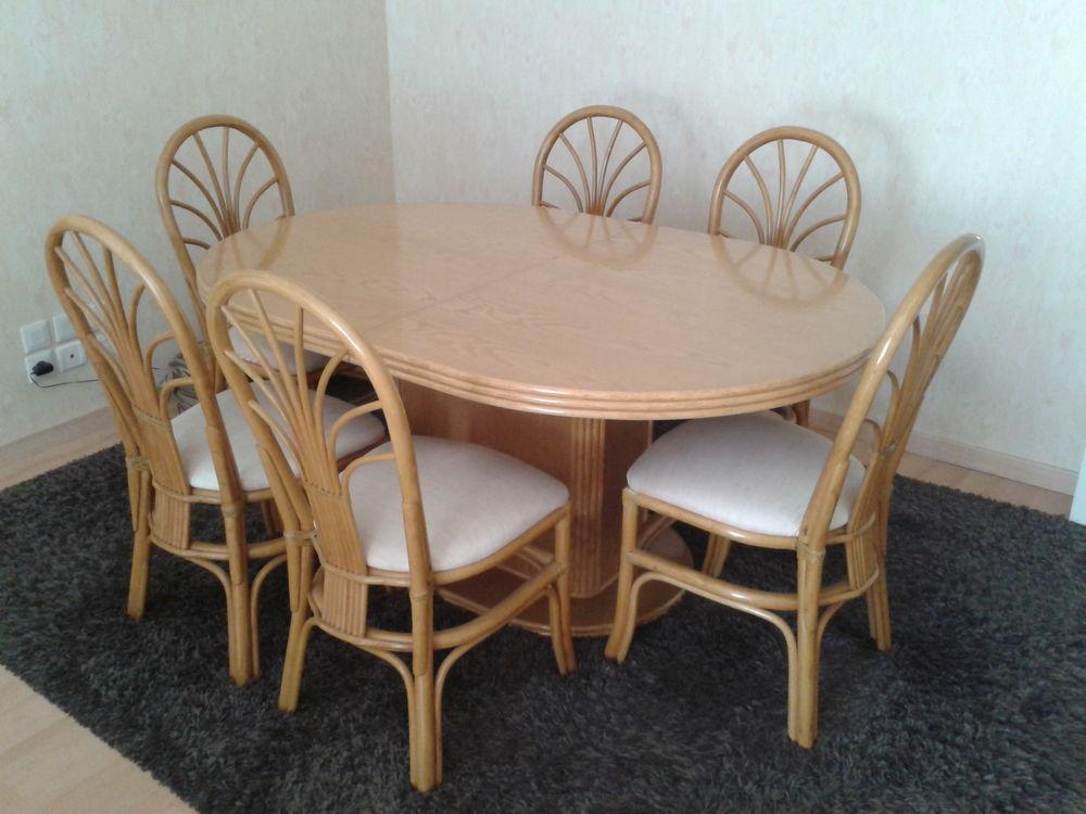 Table + 6 chaises+ rallonge 0 Quimper (29)