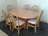 Table + 6 chaises+ rallonge 0 Quimper (29)