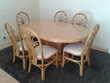 Table + 6 chaises+ rallonge