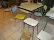 table chaises et tabourets en formica vintage Lingolsheim (67)