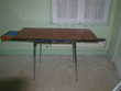 Table, chaises, tabourets vintage formica,  Andilly (95)