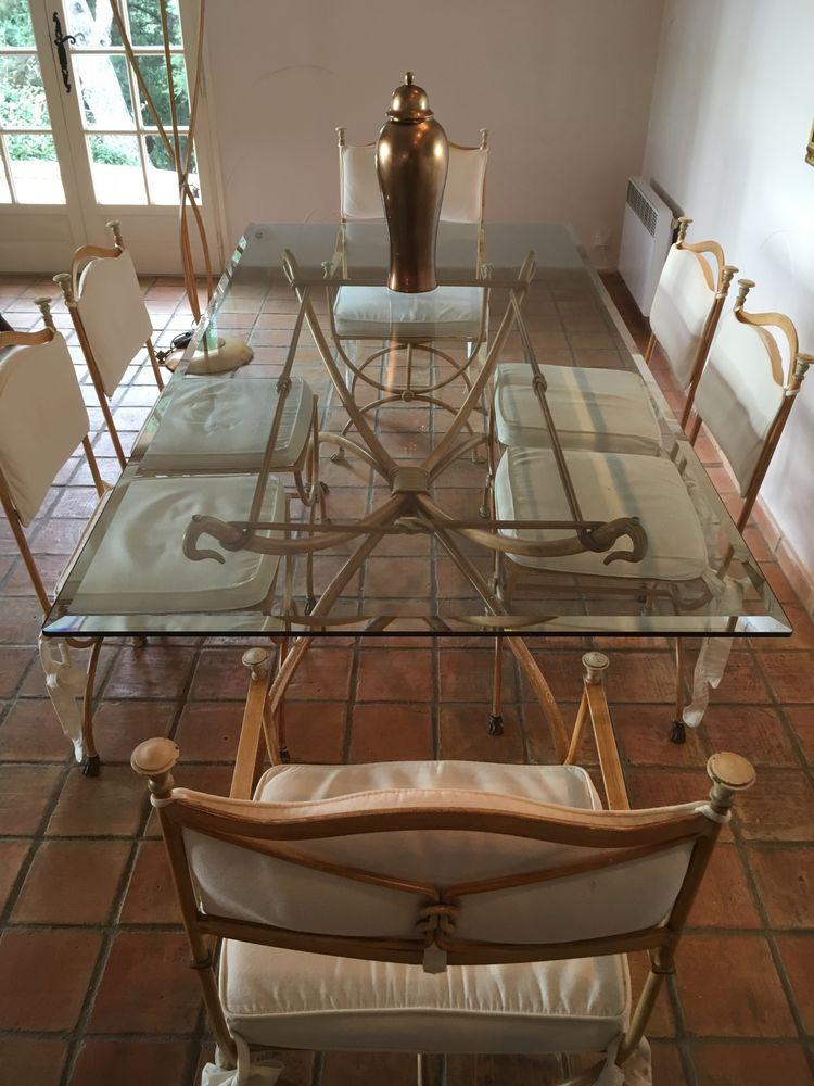 Table 6 chaises verre 525 La Croix-Valmer (83)