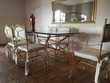 Table 6 chaises verre Meubles