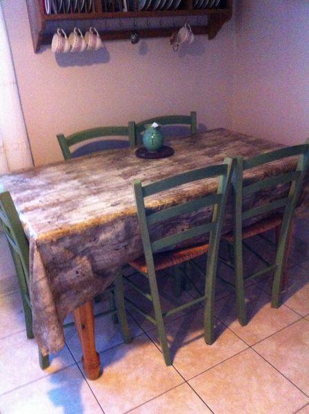Table + chaises 50 Rezé (44)