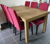 Table + chaises 200 Cholet (49)