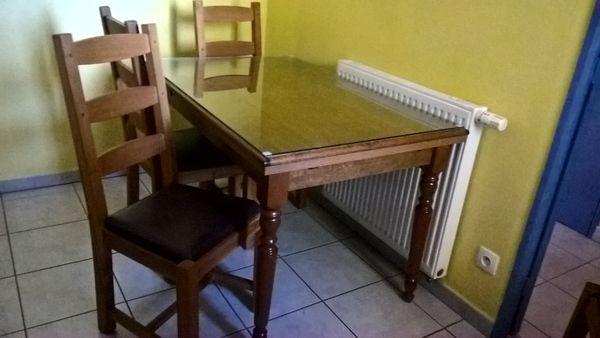 TABLE ET CHAISES 0 Paulhan (34)