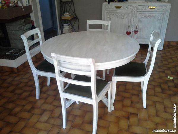 table et 4 chaises 50 Saint-Geoire-en-Valdaine (38)