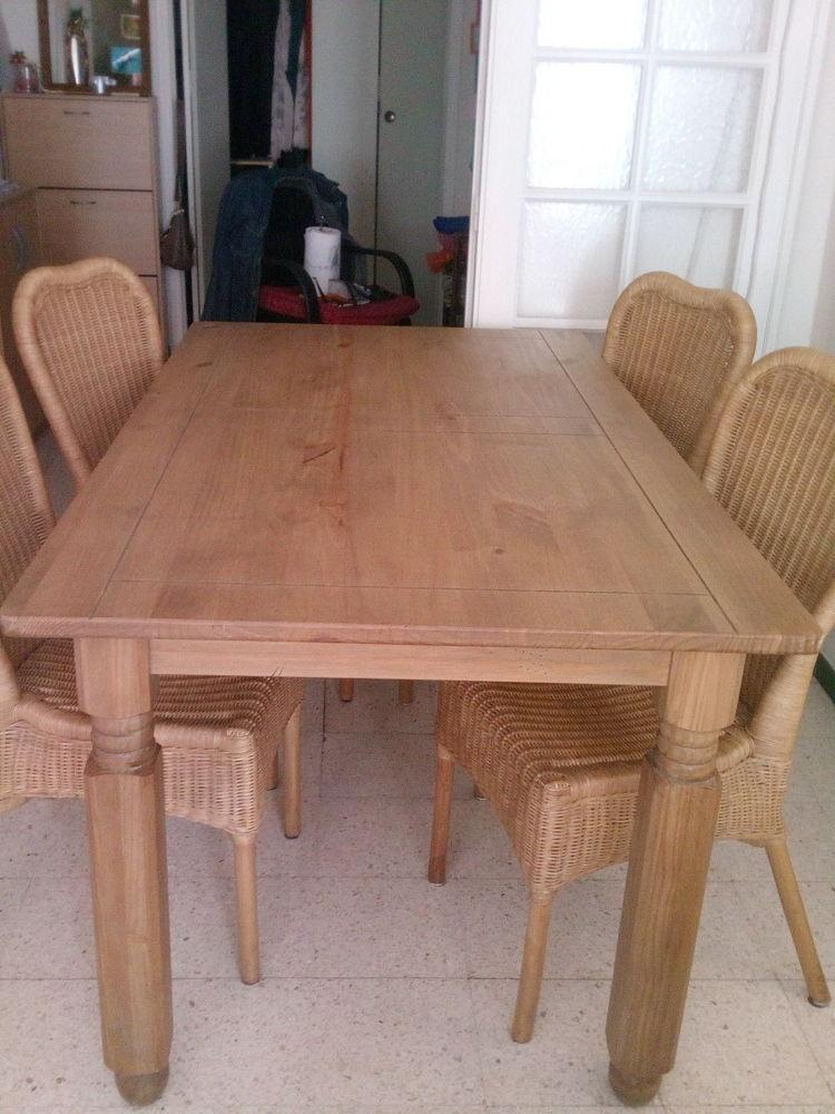achetez table et chaises occasion annonce vente s te. Black Bedroom Furniture Sets. Home Design Ideas