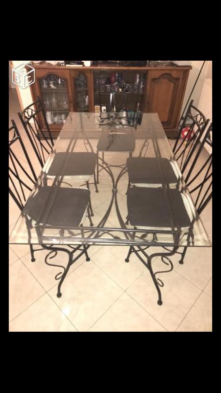 table + 6 chaises 100 Les Pavillons-sous-Bois (93)