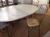 Table et chaises  850 Le Touquet-Paris-Plage (62)