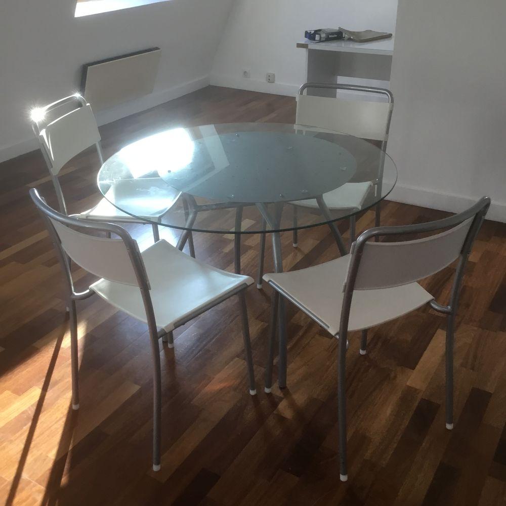 Achetez table et chaises occasion annonce vente paris 75 wb156099840 - Table et chaise occasion ...