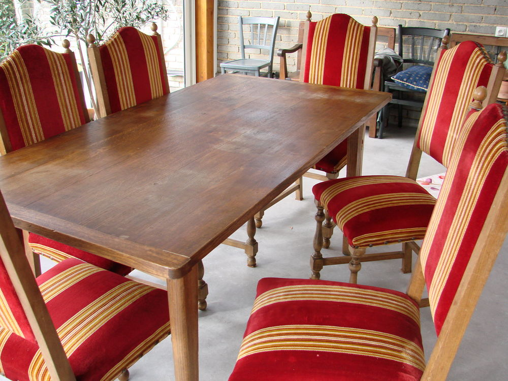 table + 6 chaises 0 Limoges (87)