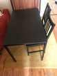 Table + 2 chaises Meubles