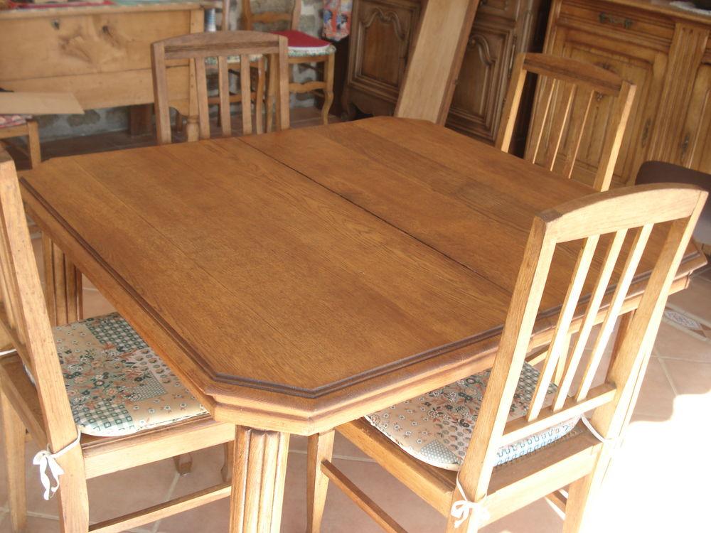 Table et 6 chaises Meubles