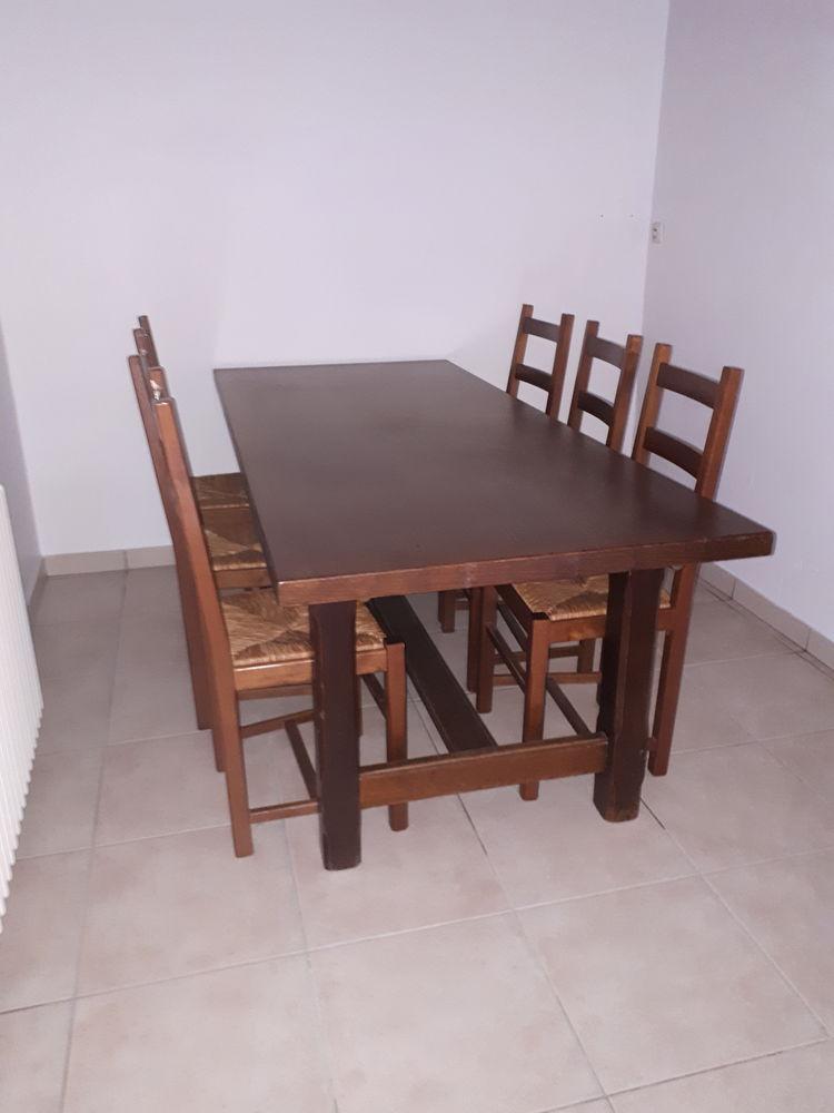 Table en chêne avec 6 chaises  0 La Chapelle-Basse-Mer (44)