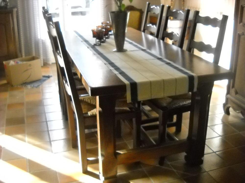 table chene extensible + chaises 690 Salies-de-Béarn (64)