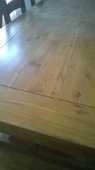 Table en chêne massif et les 6 chaises assorties 495 Périgueux (24)